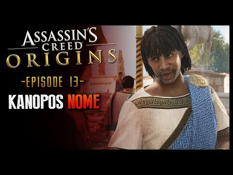 Assassin's Creed Origins Part 13 Kanopos Nome visit