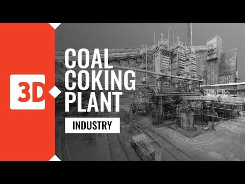 Zdzieszowice - coal coking plant - laser scanning