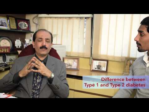 Difference between Type 1 and Type 2 Diabetes (World Diabetes Day)