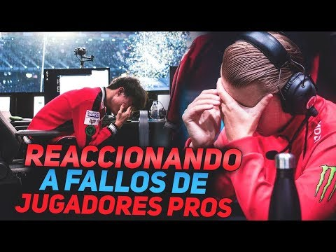 #3 REACCIONANDO A FAILS DE JUGADORES PROFESIONALES | LEAGUE OF LEGENDS thumbnail