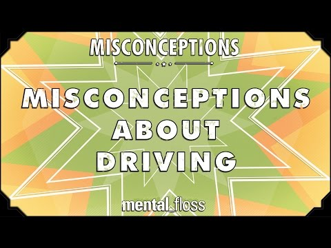 Misconceptions about Driving - mental_floss on YouTube (Ep. 10)