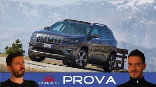 Jeep Cherokee 2.2 Multijet 4WD  Limited 2019 - test drive