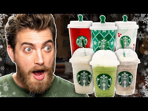 Starbucks YearRound Holiday Drinks Taste Test