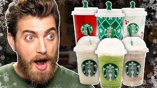 Starbucks Year-Round Holiday Drinks Taste Test