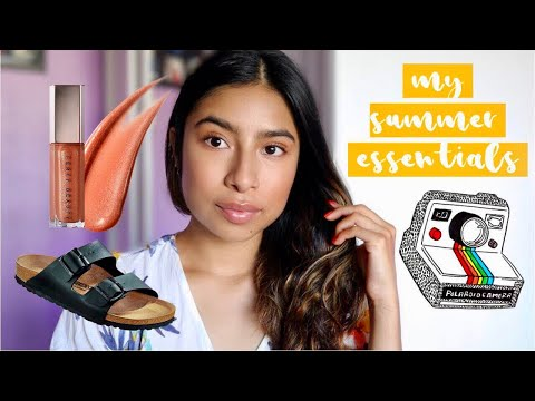 MY SUMMER MUST HAVES + ESSENTIALS thumbnail