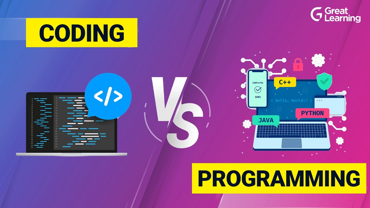 Coding vs Programming Explained in 10 mins | What's the Difference?