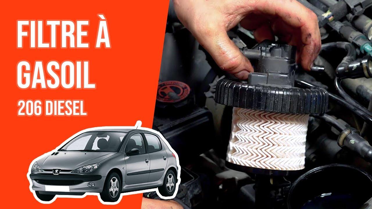 Filtre à gasoil complet Peugeot 206 2.0 hdi