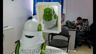 QBO Robot in front of a mirror ( UPDATED )