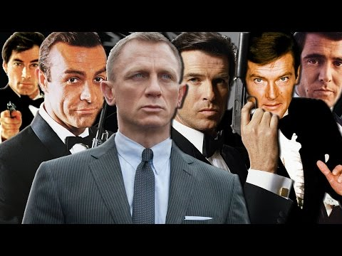6 James Bond Actors Ranked