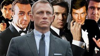 6 James Bond Actors Ranked