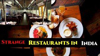 भारत के अजीबोगरीब रेस्टोरेंट|strange restaurants in India|In Hindi|history guru india|Part 1