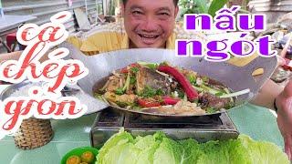 Cá Chép giòn nấu ngót, kế chuyện lương YouTube và bật kiếm tiền kênh tictok l Tâm Chè Vĩnh Long