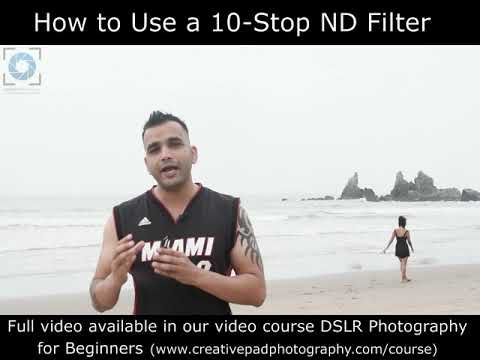 How To Use A 10-Stop Neutral Density Filter (preview)