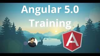 Angular 5 complete Training Program