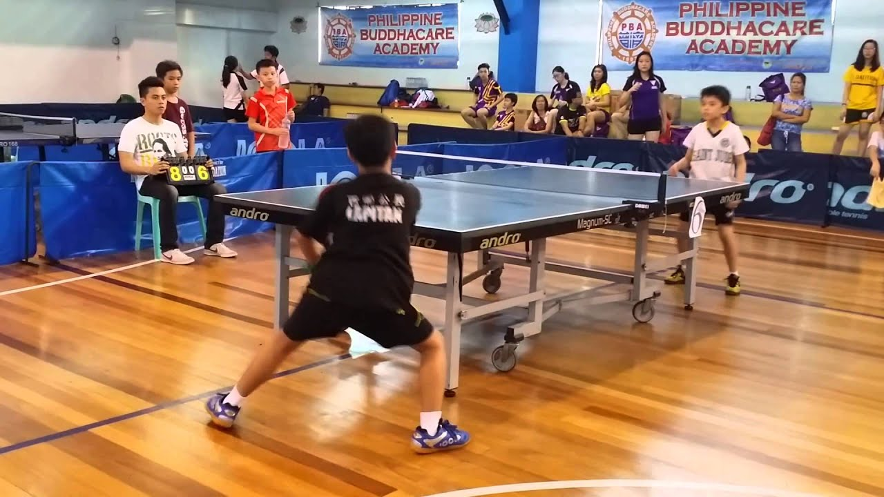 Extreme Ping Pong Jared Table Tennis Ping Pong Match Nov 15 2015 Youtube