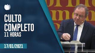 CULTO MATUTINO 11H | Rev Arival Dias Casimiro | Igreja Presbiteriana de Pinheiros | IPP TV