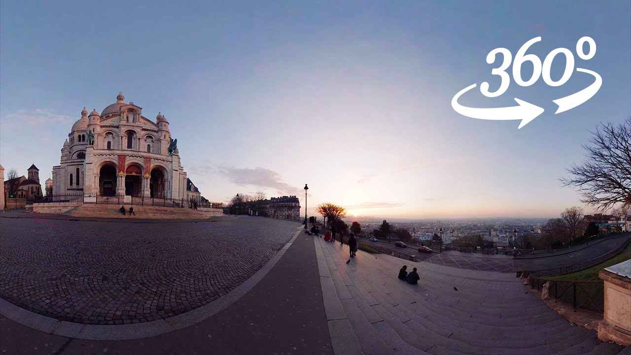 Paris in virtual reality 360 VR