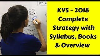 How to Crack KVS PRT- 2018 ? | Complete Strategy & Books