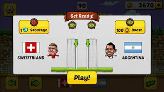 Winning the World Cup with Argentina-Puppet Soccer 2014 gameplay #01