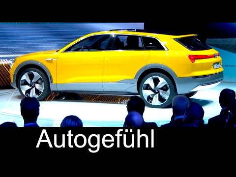 Audi htron quattro concept reveal premiere with technology explanation - Autogefühl