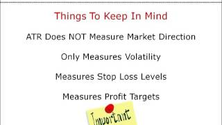 Best Short Term Trading Strategies - Using Average True Range For Volatility