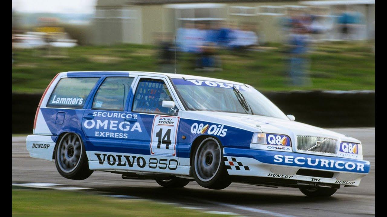 The Volvo Estate Race Car In The Btcc Youtube