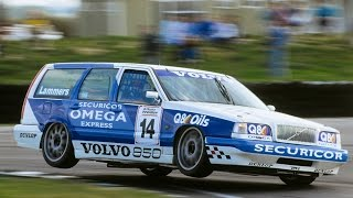The Volvo 850 Estate Race Car in the 1994 BTCC
