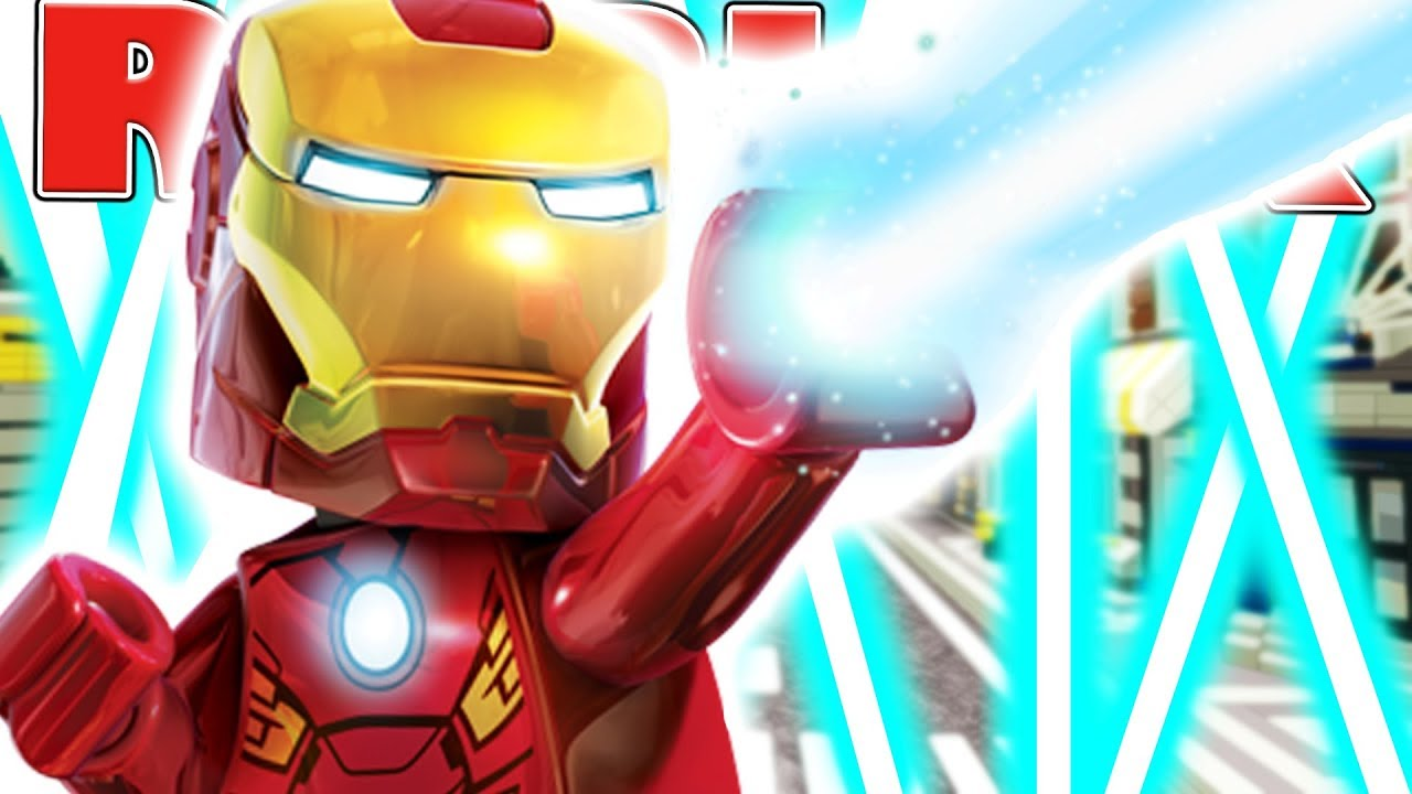 Ironman In Roblox Roblox Superhero Tycoon Youtube
