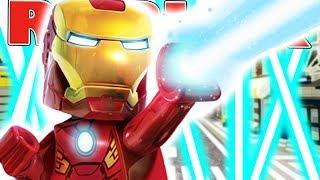 IRONMAN IN ROBLOX! (Roblox Superhero Tycoon)