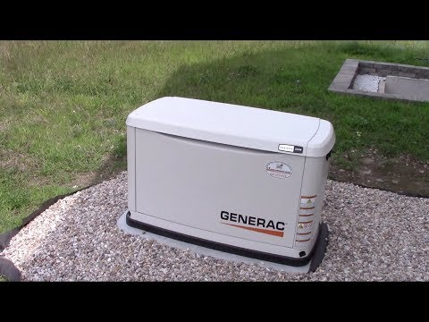 Running and Load-Testing the Generac Generator.