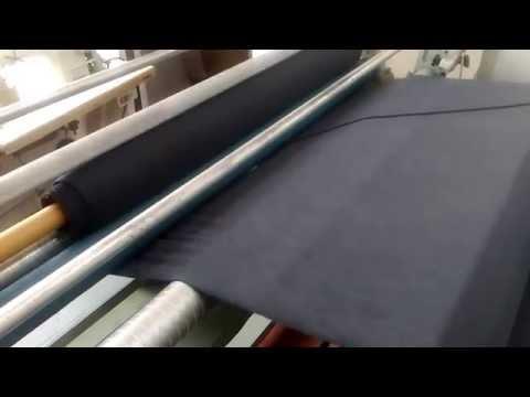 Automatic Bias/Straight Fabric Roll Making Job Work