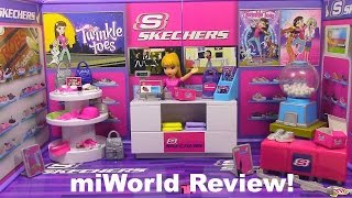 Miworld Skechers Shoe Store NEW Mi World Playset Toy Review
