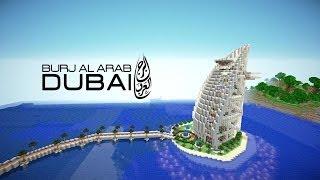 Minecraft Dubai Hotel Burj Al Arab