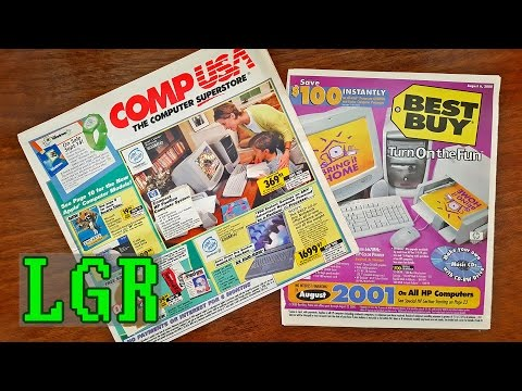 LGR - CompUSA & Best Buy Ad Nostalgia [Summer of 2000]