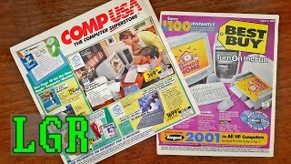 LGR - CompUSA & Best Buy Catalog Nostalgia [Summer of 2000]