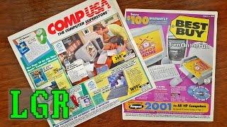 LGR - CompUSA & Best Buy Catalog Nostalgia [Summer of 2000]