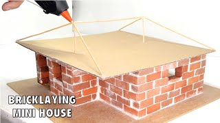 BRICKLAYING--MINI-HOUSE--FOUNDATION----MODEL--- CASA EN MAMPOSTERÍA | HOW TO BUILD A BRICK WALL