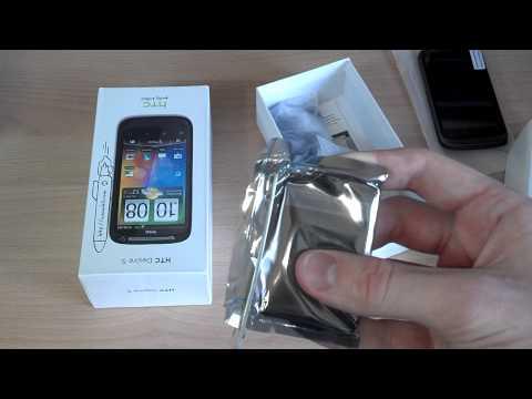 HTC Desire S распаковка и краткий обзор