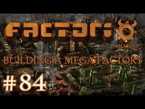 Factorio - Building a Mega Factory: Part 84, moving the green chip factory