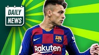 FC Barcelona: Abidal baggert an Lautaro Martinez! DFB-Pokal: Saarbrücken und FCB eine Runde weiter!