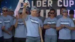 Marlies Calder Cup Celebration: Ben Smith - June 16, 2018