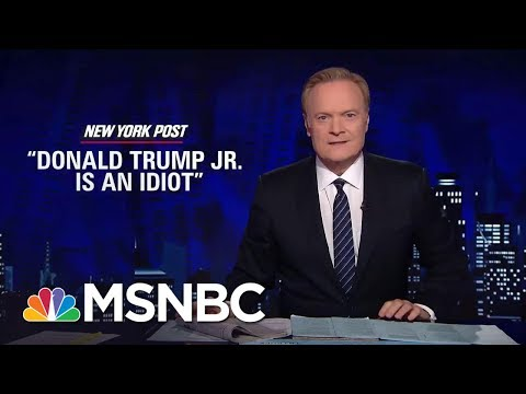 Thumbnail: Jared Kushner Letting Donald Trump Jr. Take The Fall | The Last Word | MSNBC