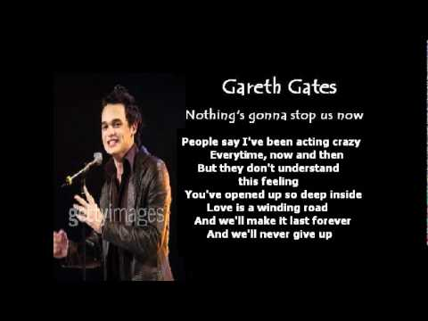Клип Gareth Gates - Nothing's Gonna Stop Us Now