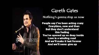 Watch Gareth Gates Nothings Gonna Stop Us Now video
