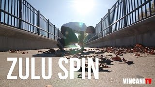 How to Breakdance | Zulu Spin | Footwork 101