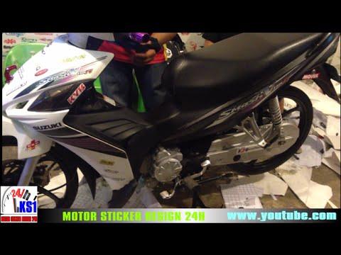 Suzuki smash v smash v115 ks1 sticker shop