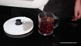 Чайник Kenwood JKP 230 - видео обзор