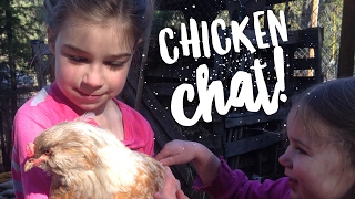 Why We Love to Keep Backyard Chickens -- a chat with Melanie Lynn