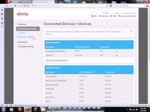 How to forward ports on an Xfinity Router and find your external IP