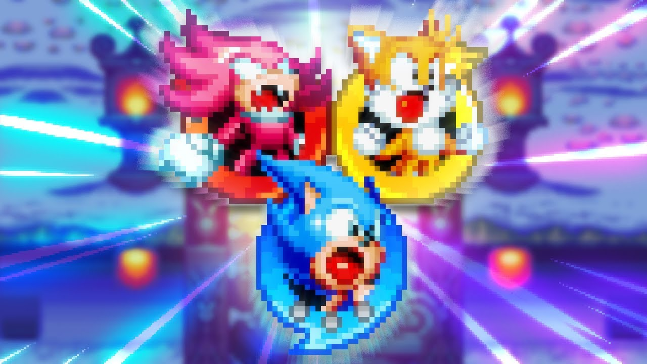 Sonic Mania: Overpowered Heroes